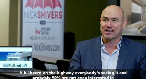 Nick Shivers moves his brand advertising to where buyers are interested in properties