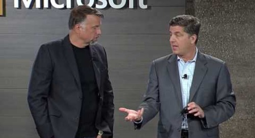 Microsoft Business Forward 2017 keynote | James Phillips on digital transformation technology