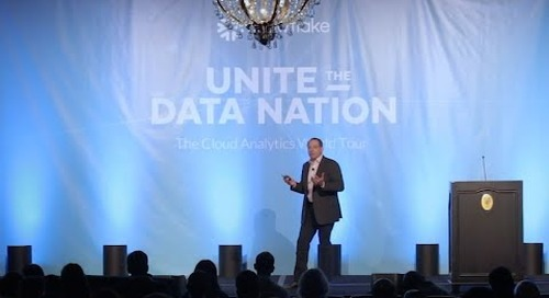 Cloud Analytics World Tour: Keynote with Snowflake CEO, Bob Muglia