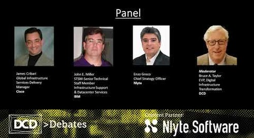 DCD Debates: Is Machine Learning and AI ready for mainstream in the data center?