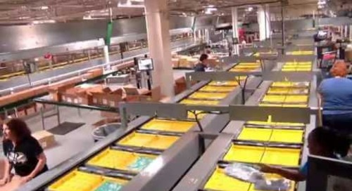 Abercrombie and Fitch  Retail Unit Sorter