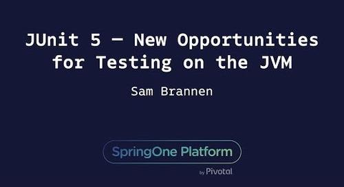 JUnit 5 — New Opportunities for Testing on the JVM - Sam Brannen, Swiftmind