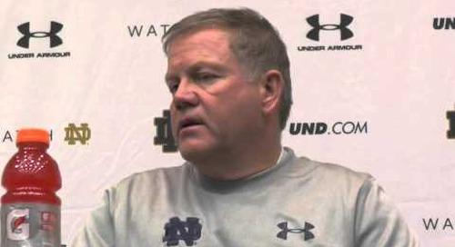 Notre Dame's Brian Kelly - 11/20/14 - Louisville Week