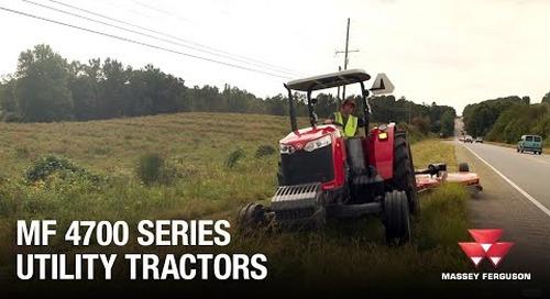 4700 Series Utility Tractors from Massey Ferguson