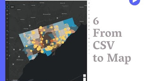 Working with CSV in ArcGIS Online