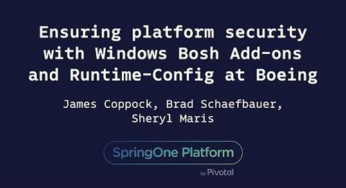 Ensuring Platform Security with Windows Bosh Add-ons - Maris, Schaefbauer, Coppock, Boeing