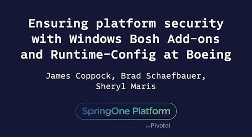 Ensuring Platform Security with Windows Bosh Add-ons - Maris, Schaefbauer, Coppock, Boeing