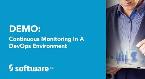 Demo: Continuous Monitoring in a DevOps Environment