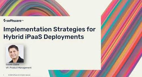 Implementation Strategies for Hybrid iPaaS Deployments