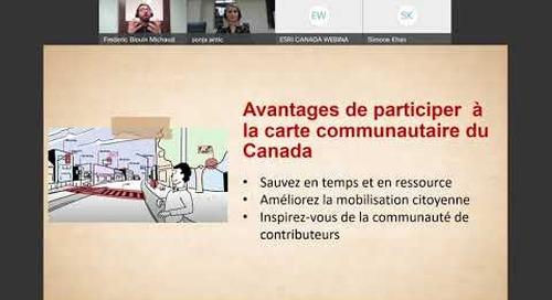 Communiquez mieux grâce à la carte communautaire du Canada (en français)