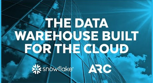 ARC - Modernizing a Data Warehouse for the Travel Industry
