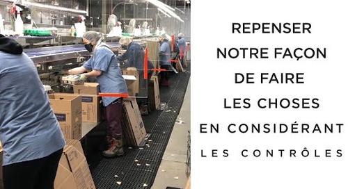COVID-19 & le retour au travail: Transformation des aliments