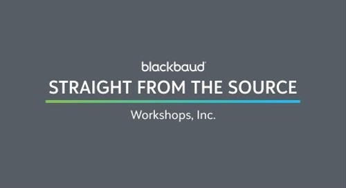 Straight from the Source: Workshops, Inc.