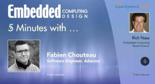 Five Minutes With… Fabien Chouteau, Software Engineer, Adacore