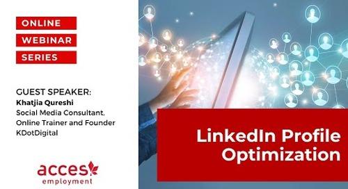 LinkedIn Profile Optimization