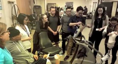 University of Toronto Physiotherapy students visit West Park