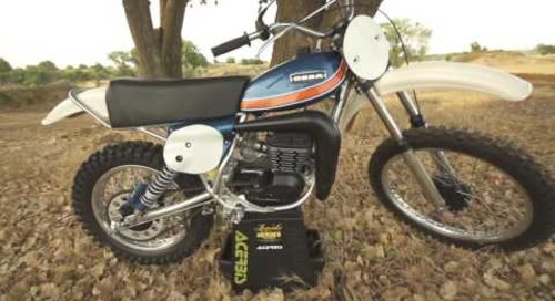 Acerbis vintage bike stand