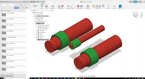 Generating Multiple Design Solutions with Autodesk Inventor