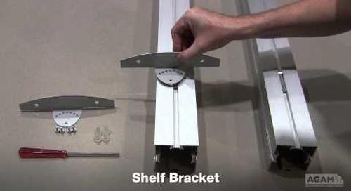 Shelf Bracket (Reference:504 B02) Assembly
