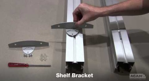Shelf Bracket (Reference:504 B02) Assembly