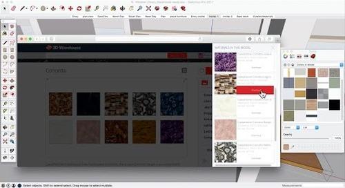 3D Warehouse: Download Materials