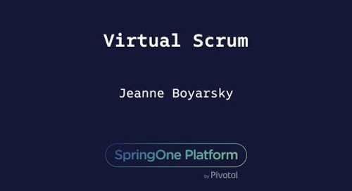 Virtual Scrum - Jeanne Boyarsky, Coderanch