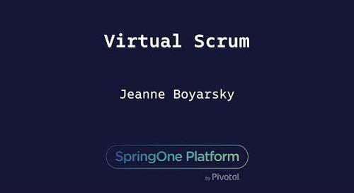 Virtual Scrum - Jeanne Boyarsky, Coderanch
