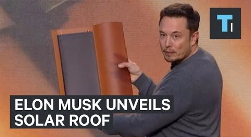 Elon Musk unveils Solar Roof by SolarCity