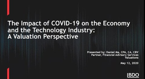 The impact of Covid-19 on technology companies - a valuations perspective | BDO Canada