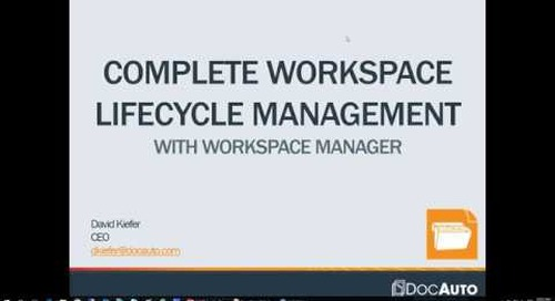 WorkSpace Manager - Complete Lifecycle Management (4-27-16)