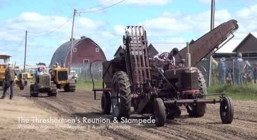 Threshermen's Reunion and Stampede, Manitoba Agricultural Museum, Austin MB
