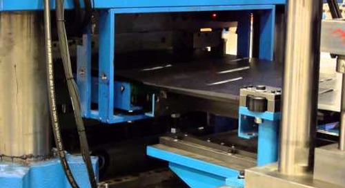 Samco Machinery Roof Tile and Shake Rollforming Line