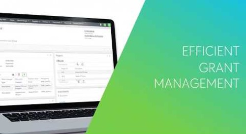 Managing Grants With Blackbaud Financial Edge NXT®