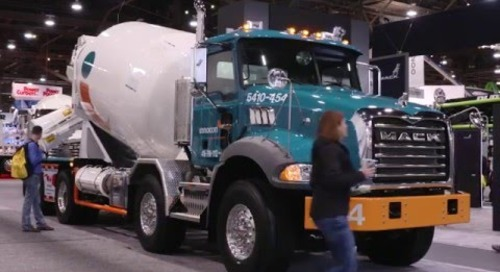 Mack Trucks at World of Concrete 2016