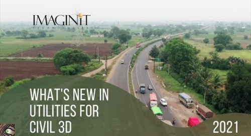 IMAGINiT Utilities for Civil 3D 2021 What's new