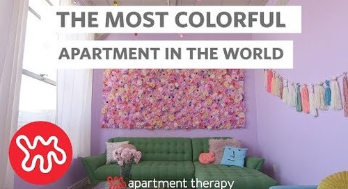 House Tour: A Rainbow-Unicorn Haven in Los Angeles