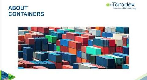 Qt and Software Containers for Embedded Devices