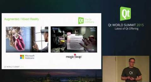 QtWS15- Rising Trends in 3D in user interfaces, Sami Makkonen, The Qt Company