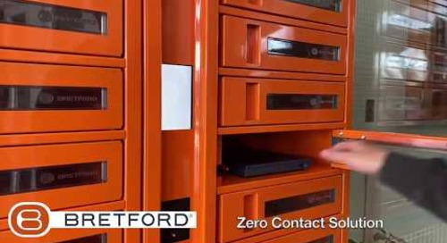 Bretford: TechGuard Connect® Charging Locker Case Study -  No Touch IT - EDU