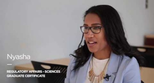 Nyasha - Regulatory Affairs – Sciences Graduate Certificate