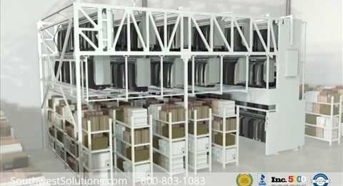 Automated Vertical Garment Hanging Carousels