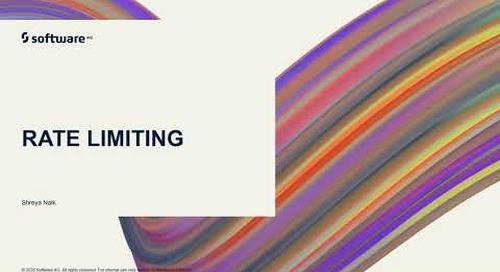 webMethods.io Integration Tutorials - Rate Limiting