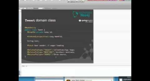 Webinar: Introduction to Spring Data Neo4j