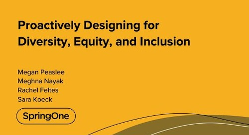 Proactively Designing for Diversity, Equity, and Inclusion