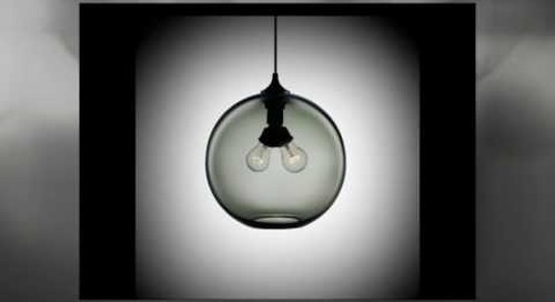 Binary Modern Pendant Light