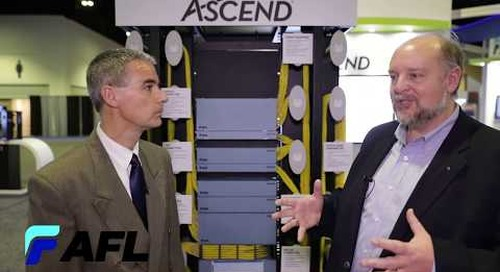 Seán talks Enabling the Customer in 2020 and our ASCEND® platform and 90 series fusion splicers.