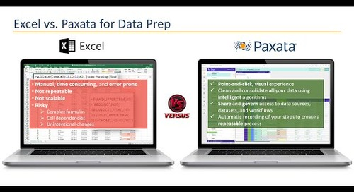 3 Ways Paxata Data Prep Beats Excel