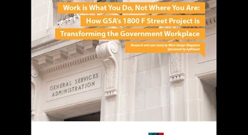 U.S. GSA's Workplace Transformation