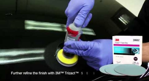 3M Perfect-It™ Paint Finishing with T5000 for Small area repairs