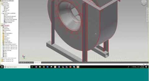 How to Reduce Graphical Strain on Inventor Models